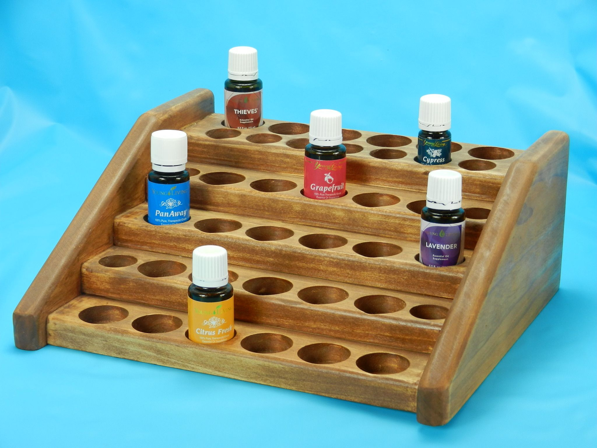 Medium Counter Display Essential Oil Rack Display Wooden