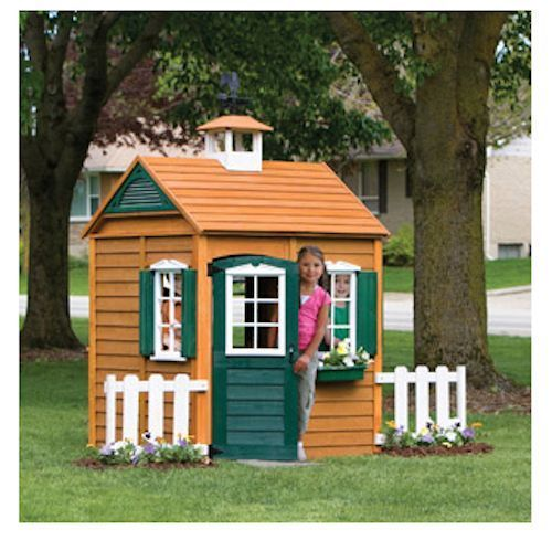 Charmant Big Backyard Bayberry Ready To Assemble Wooden Playhouse, Big Backyard  Playhouse, Bayberry Playhouse