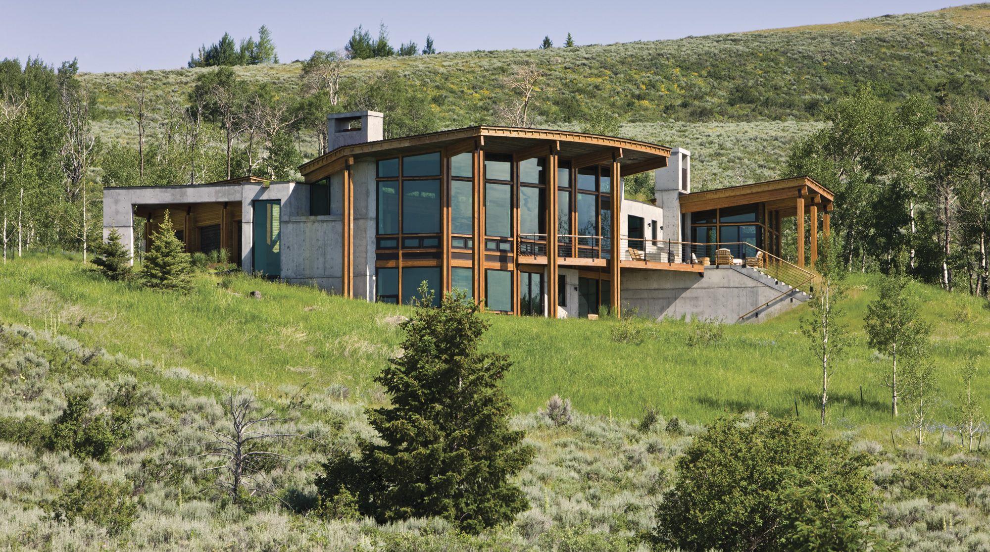 Western Design Cowboy Modern Big Sky Journal Passive Solar House Plans Passive Solar Homes Solar House