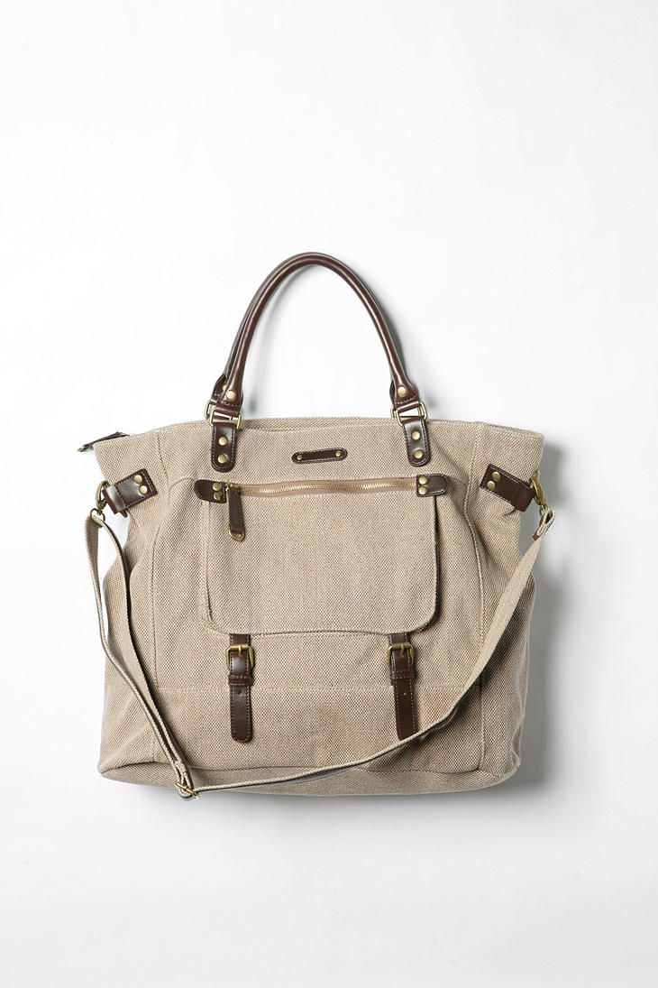 There has been a gap ever since my little red duffel was stolen.  This is a bit larger, but I could use this!