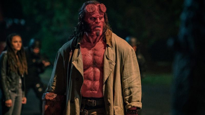 Hellboy with images new clip movies worst movies