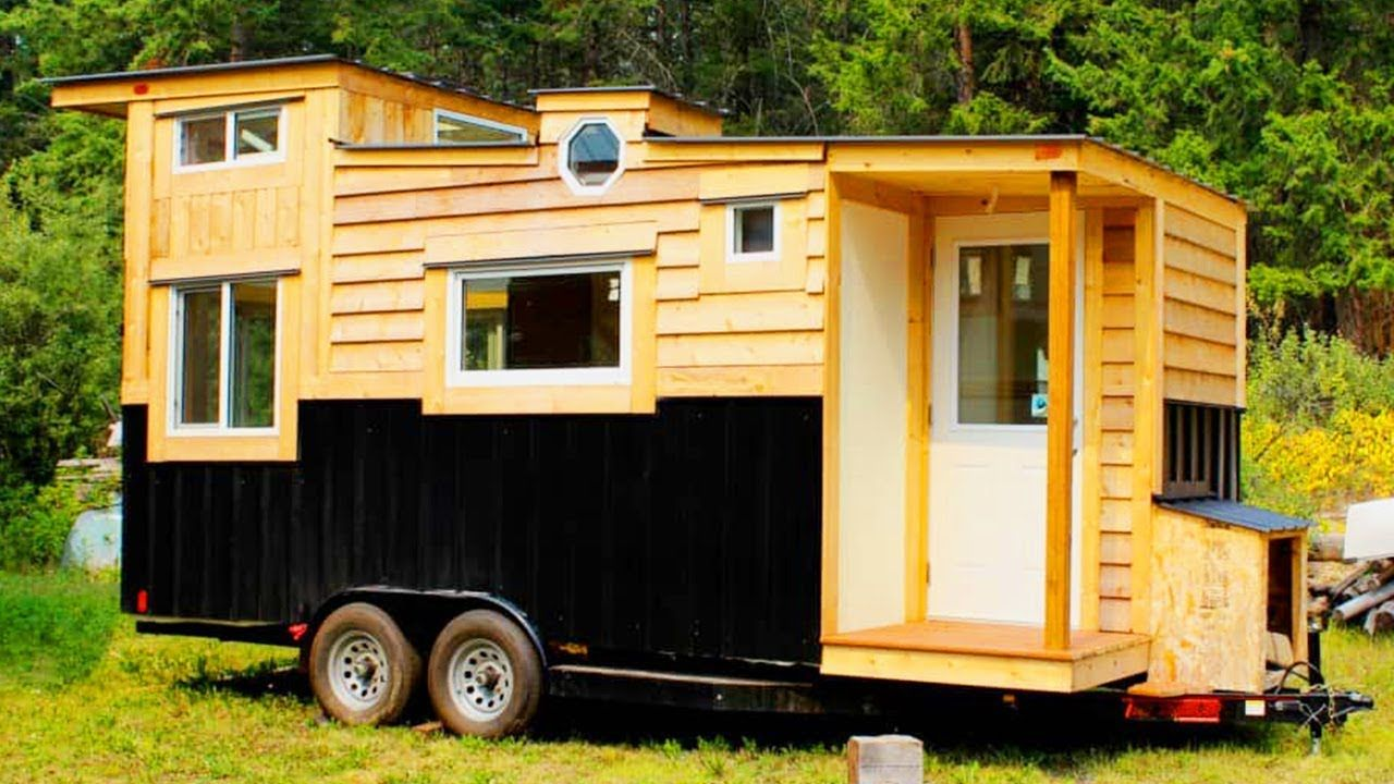 Beautiful canadian tiny home for sale in golden british