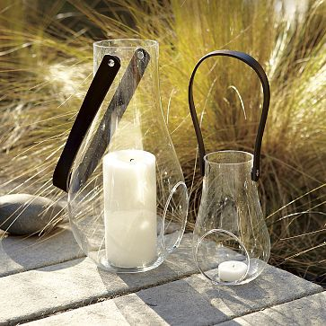 Droplet Laterns love the handle so you can hang them from branches or set on your table!!!