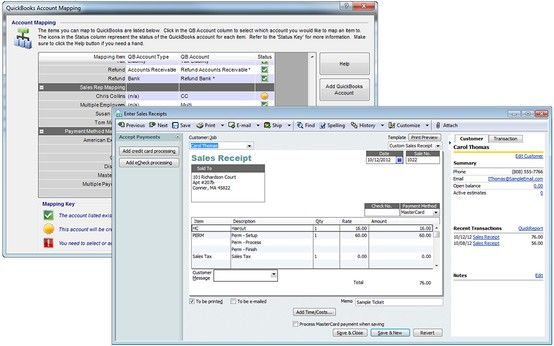 Use Quickbooks for accounting, taxes and payroll? Quickly share - payroll receipt