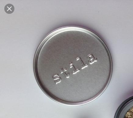Stila magnificent metals foil finish eyeshadow mixing tin.
