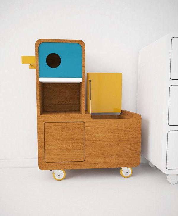 Kids Storage Cube Organizer Toy Box Kids Bedroom Furniture: Lovely - Toy Storage