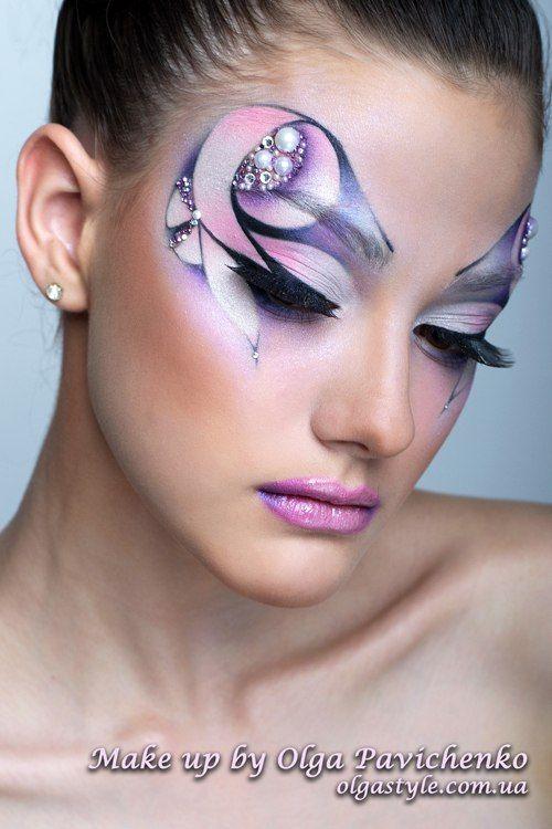 Конкурсный макияж модельное агенство верхняя пышма