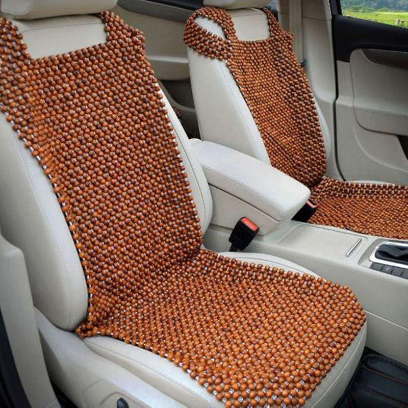 Universal Wooden Beaded Car Seat Cover Cushion Pad Mat Back Massager New Wholesale EA5058China Mainland