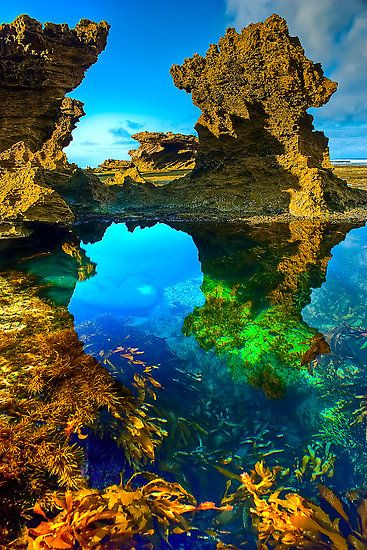 Back Beach, Sorrento, Mornington Peninsula, Australia.