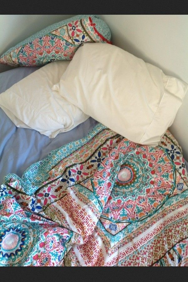 Jewels Blanket Quilt Duvet Boho Cover Scarf Bedding Moroccan Pattern Print
