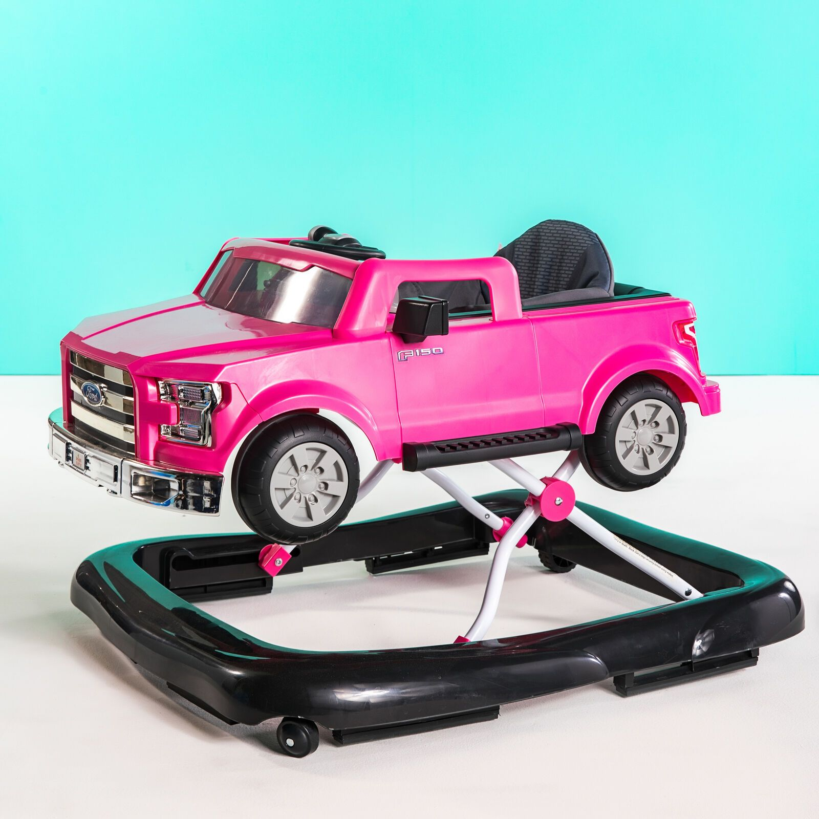 Ford 3 Ways to Play Walker Ford F150, Pink Kids