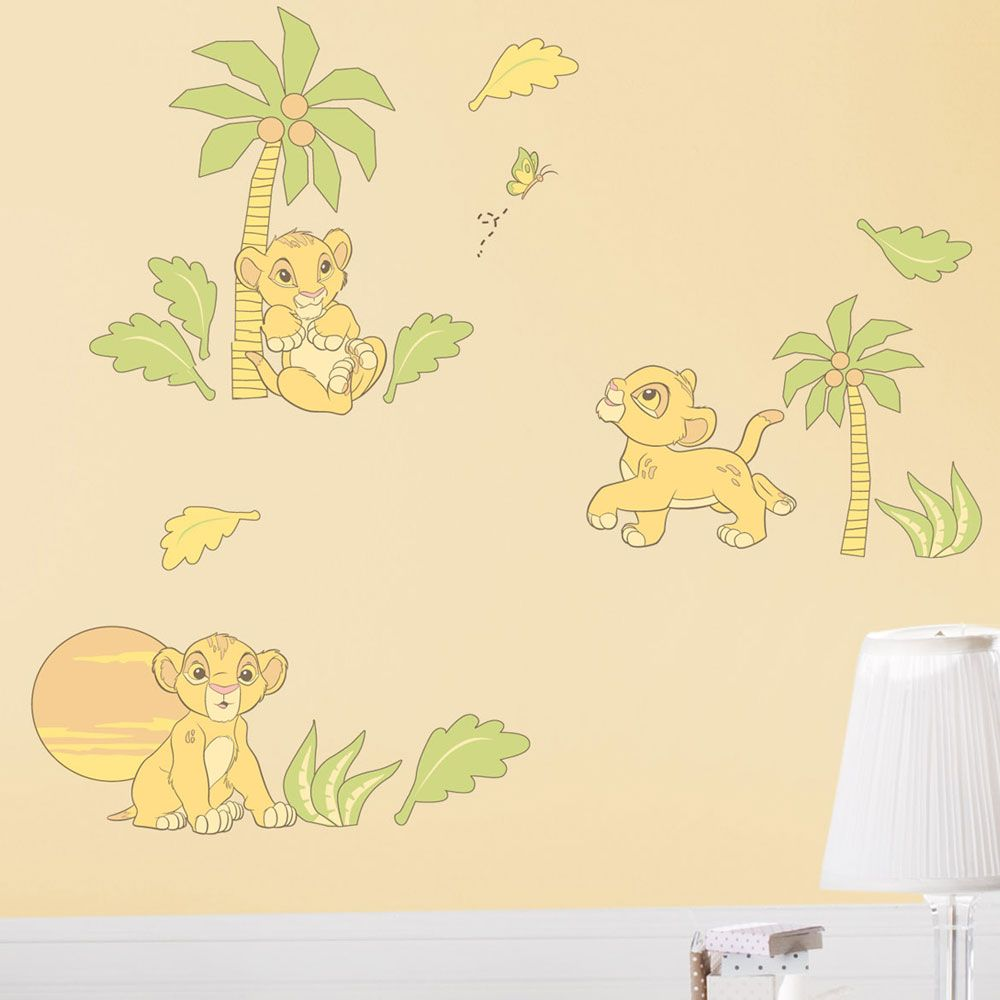 The Lion King Wall Decals Jens Little Nugget