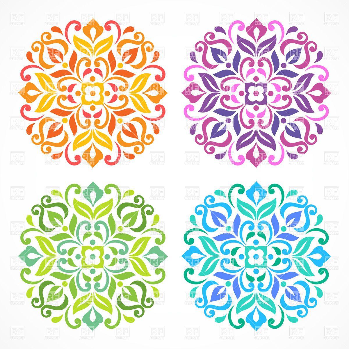 simple mandala flower - Google Search | mandalas ...