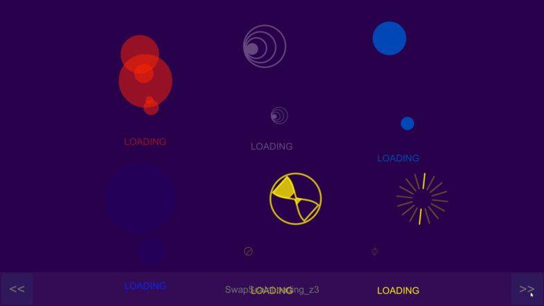 Loading Circle Effects Particles Effects Unity Asset Store Minimal Web Design Portfolio Web Design Brochure Design Layouts