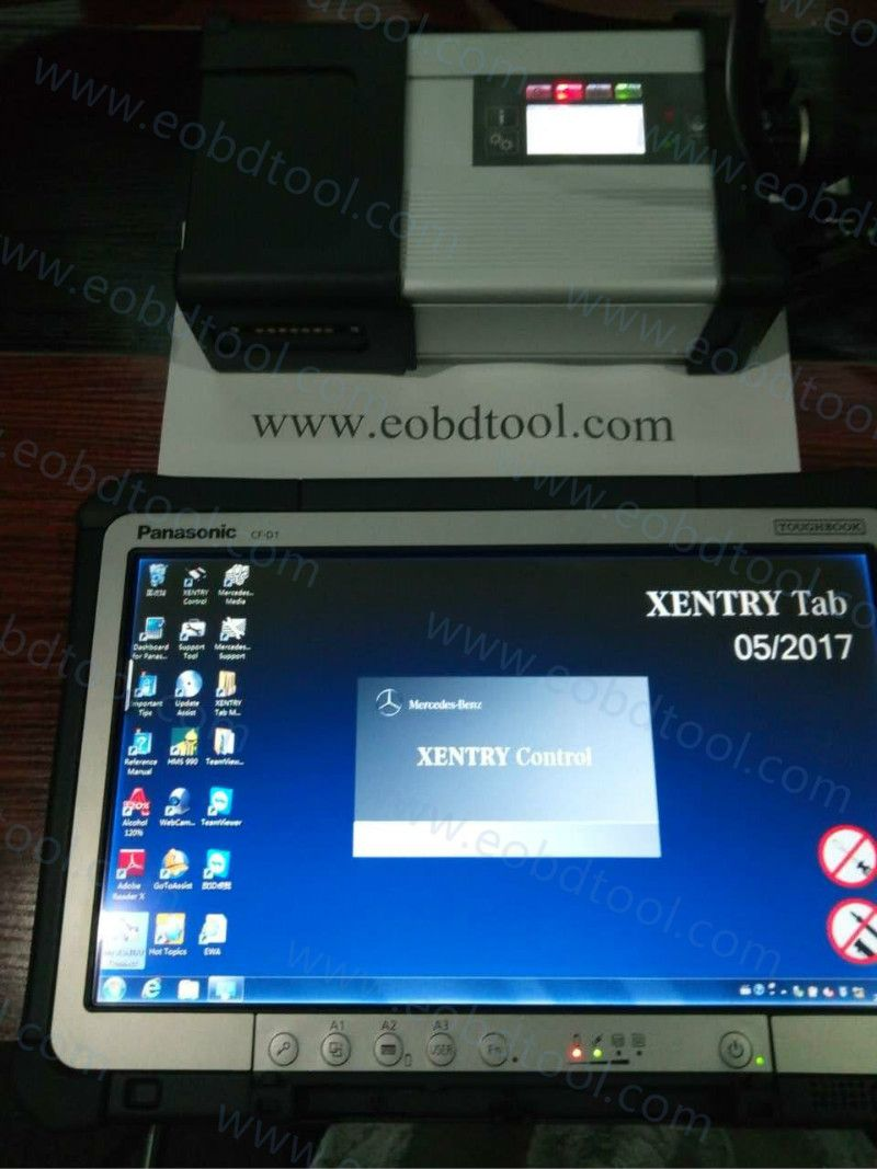 Xentry Connect Original MB Star Diagnostic C5 SD Connect Compact C5