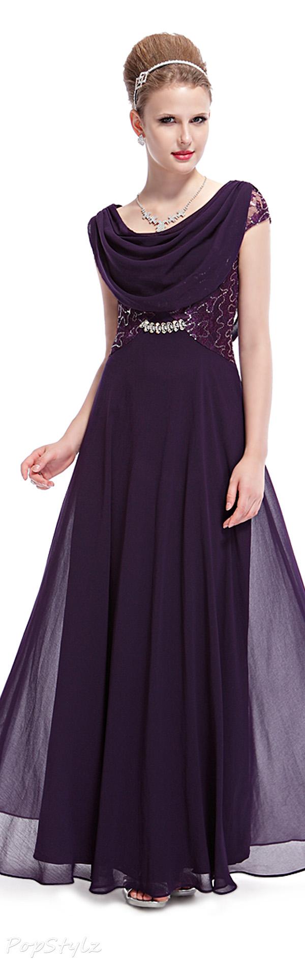 Pretty Purple Evening Gown jaglady