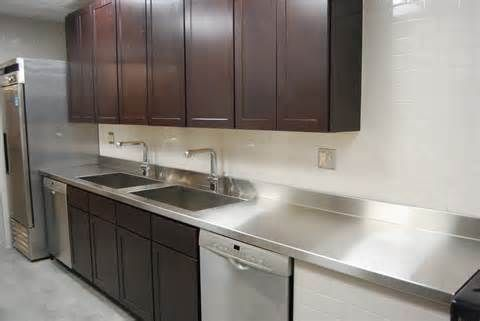 stainless steel countertops - Bing images