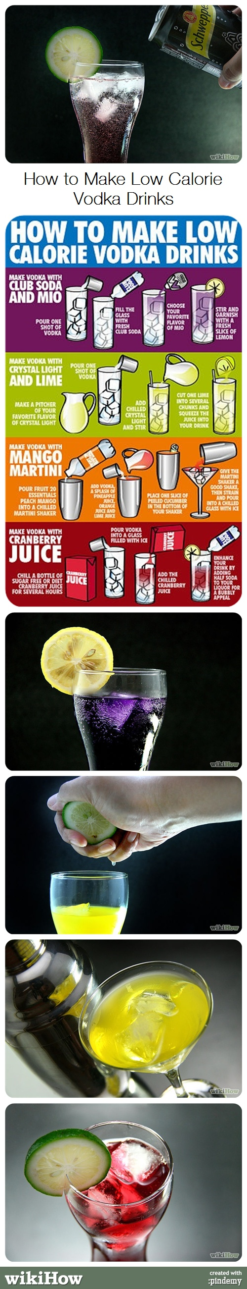 how to make vodka drinks