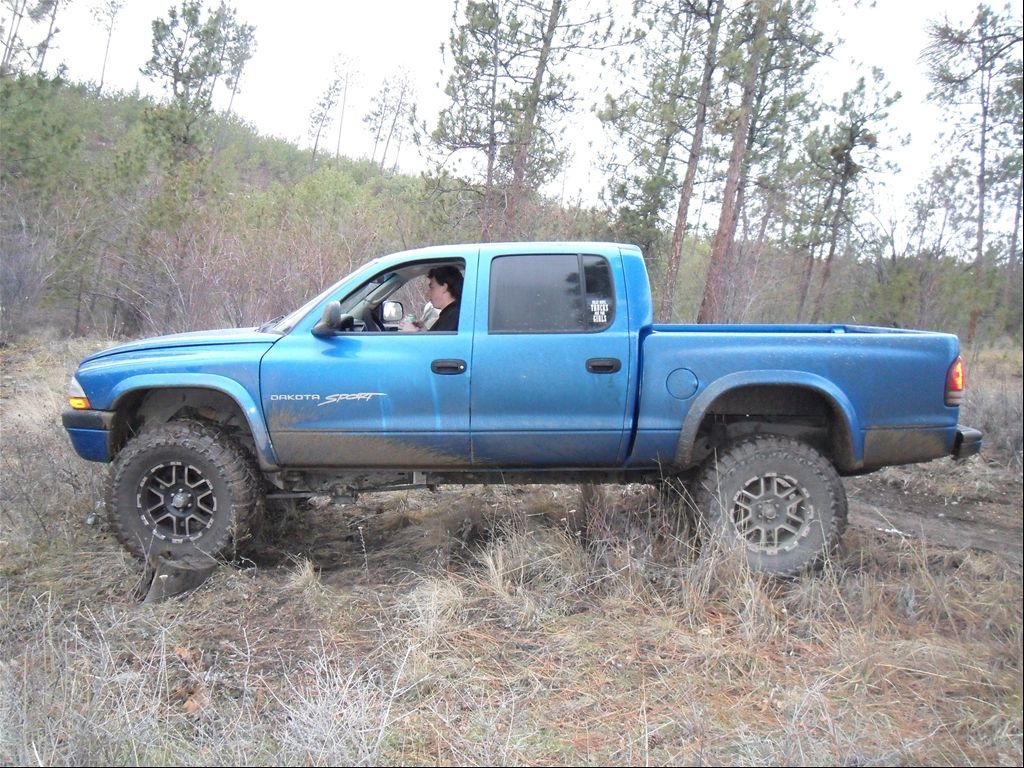 E A F Fa Aae on 2001 Dodge Dakota Quad Cab 4x4 Lifted