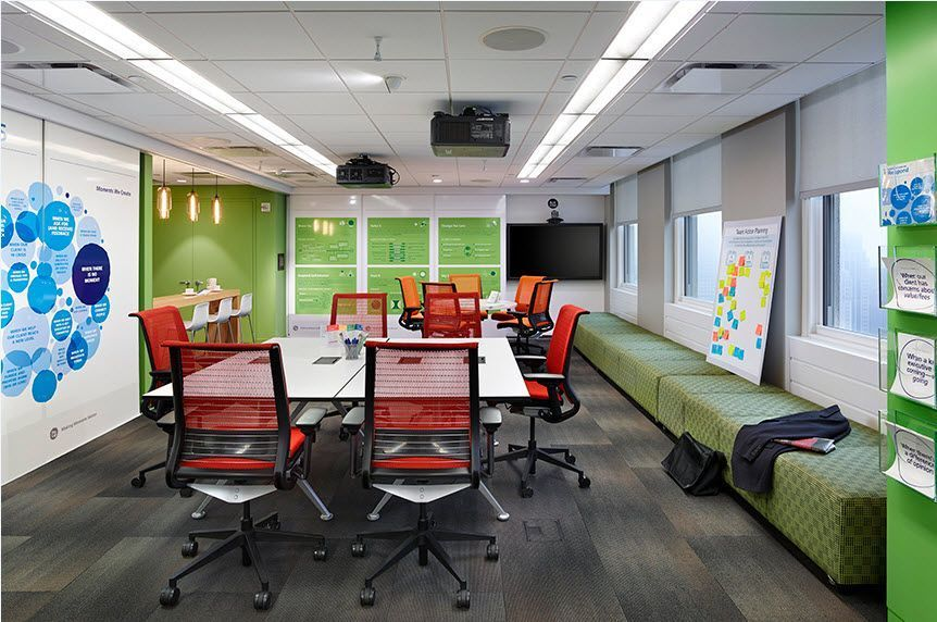 A glimpse at the deloitte client experience collaboration for Design consulting nyc