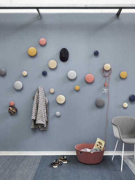 Gelbe Ordnung The Dots Garderobenhaken Von Muuto Homesweethome