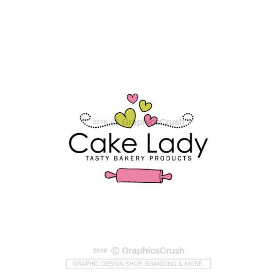 Corazones de panadería logotipo diseño cocina Logo Blog Logo ...