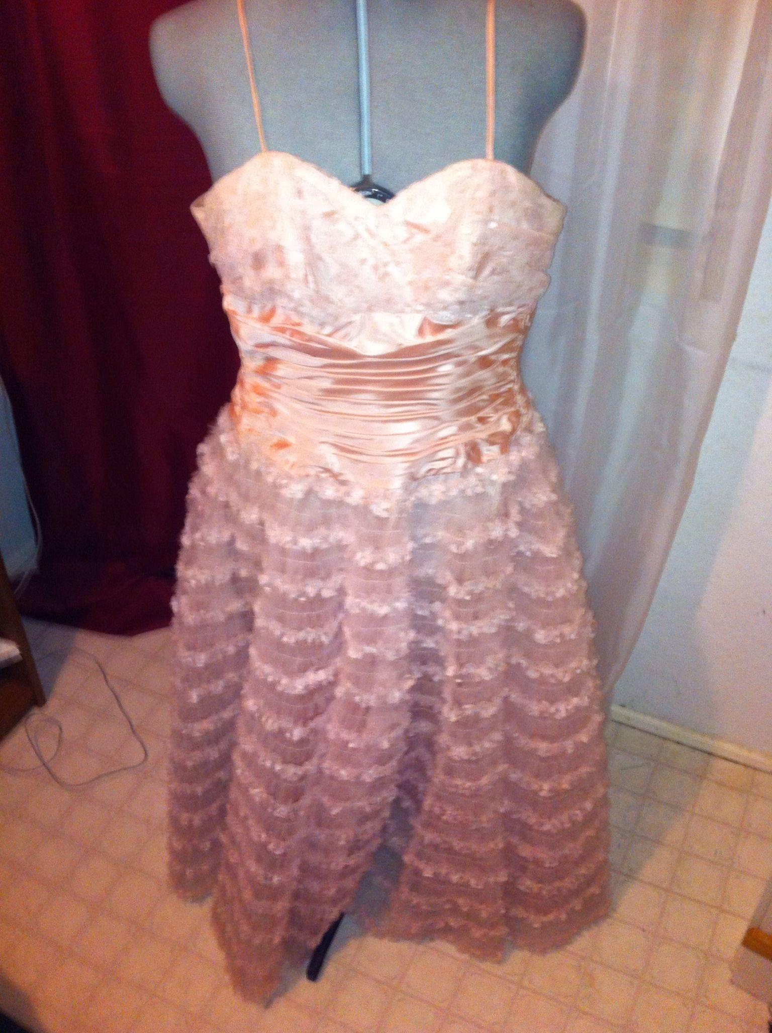 Pink vintage prom dress show biz pinterest vintage prom