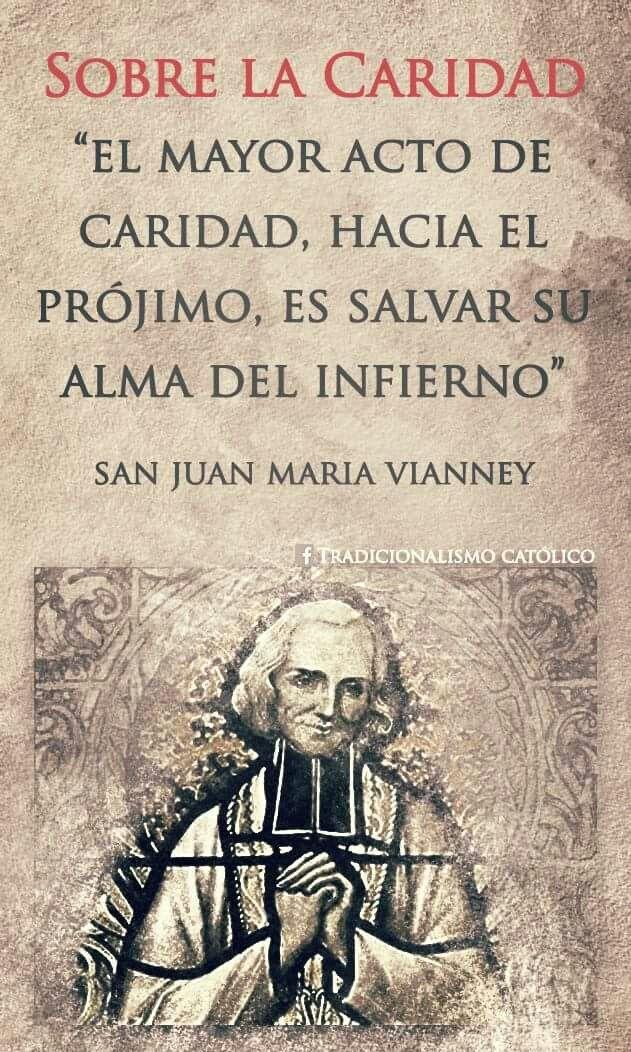 Santo Cura De Ars Frases Catolicas Santos Católicos Y
