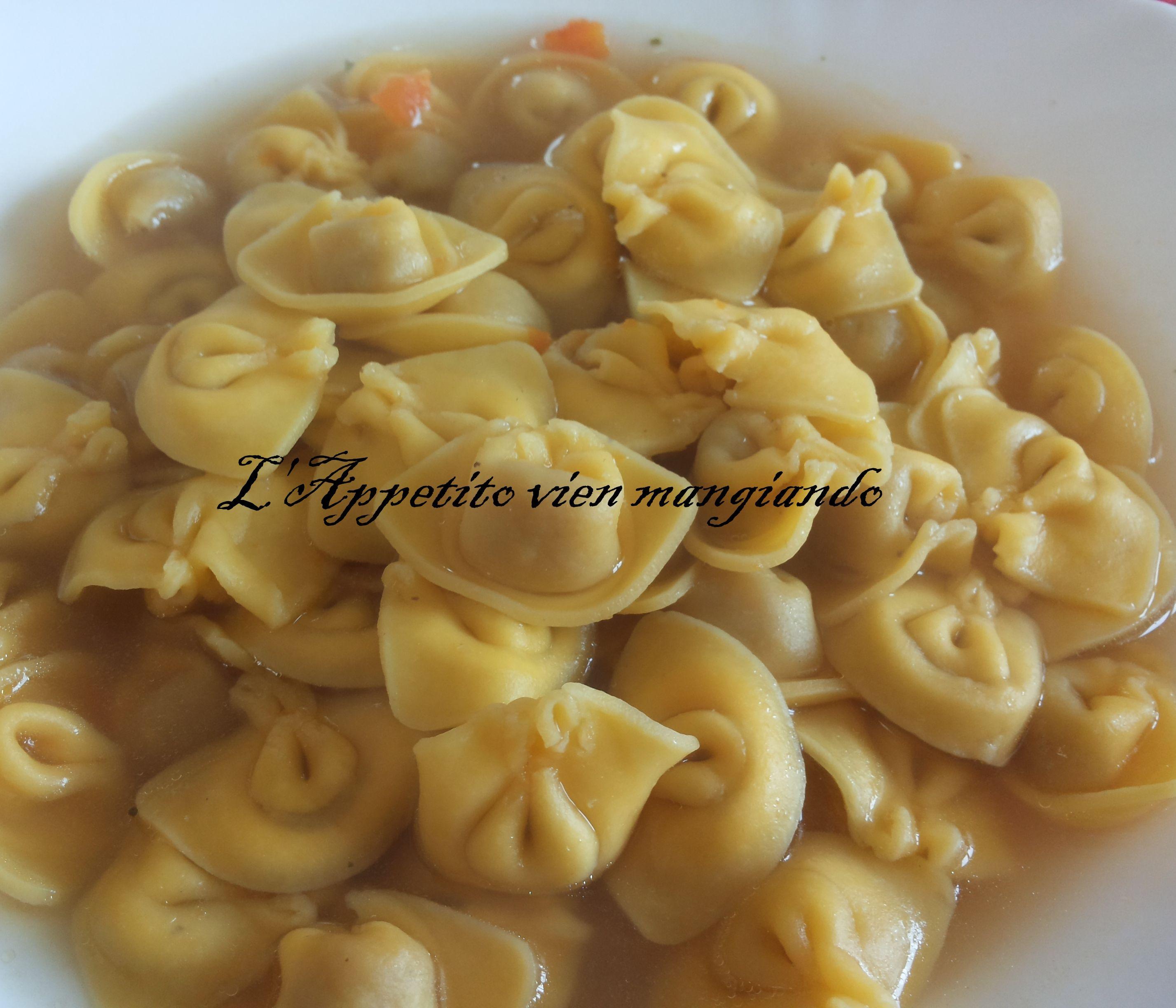 TORTELLINI IN BRODO AMC | L'appetito vien mangiando