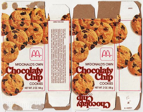 I M Remembering Mcdonalds Cookies Happy Meal Mcdonalds My Childhood Memories