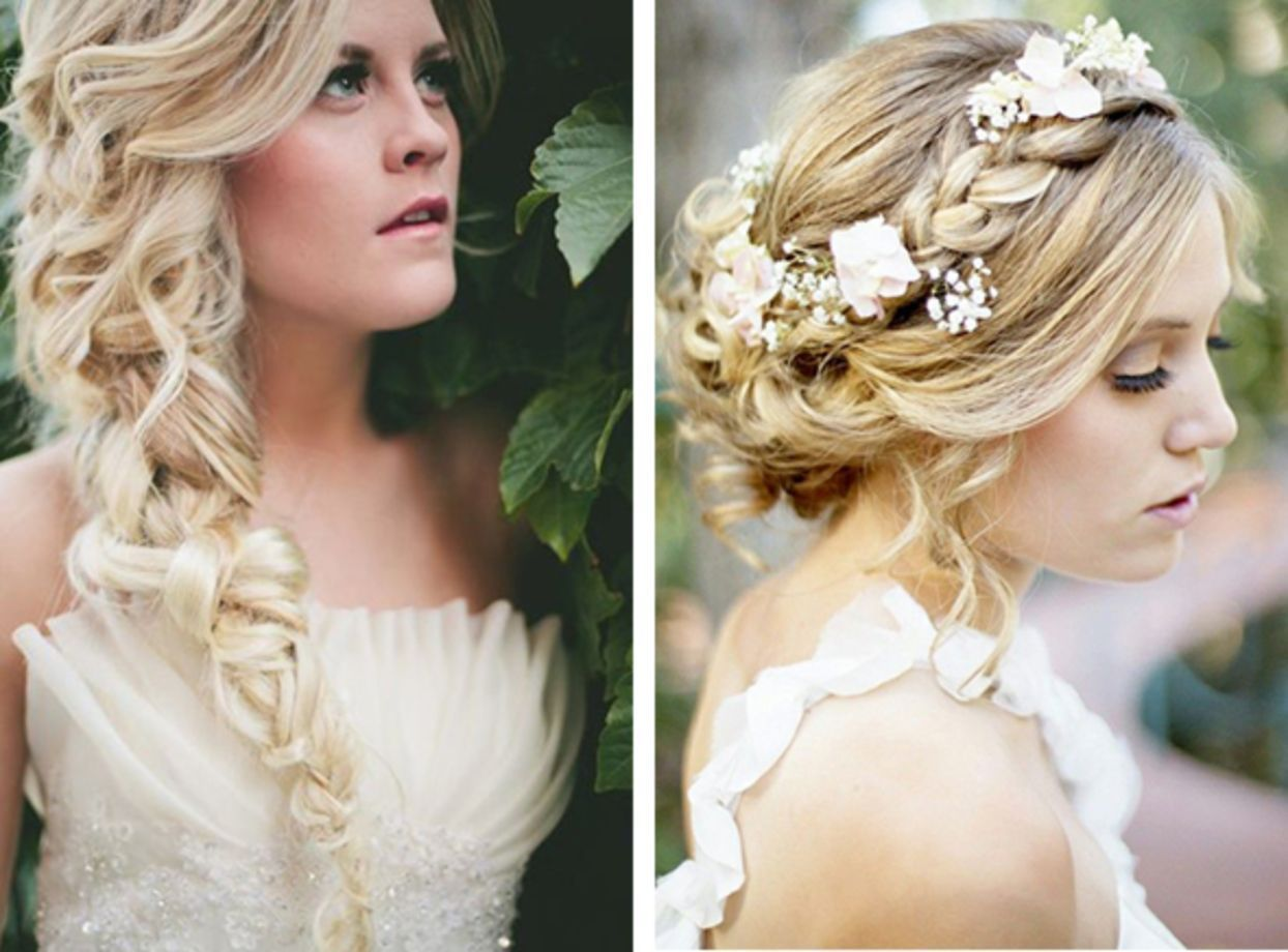 56 Charming Loose Braided Bridal Hairstyle Ideas #loosebraids Wedding hairstyles are just as important as the wedding dress' choice. If the hairstyle is not harmonious with the wedding dress, it could ruin the bride's entire look. Since there are endless number of options, deciding how to style your hair for your wedding can be exciting and stressful at the same time. But don't fret, bride, because we are here to help you. #loosebraids 56 Charming Loose Braided Bridal Hairstyle Ideas #looseb #loosebraids