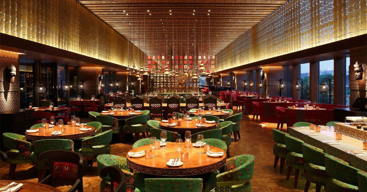 Image Result For Kheer Roseate House Delhi Restaurants Restaurant