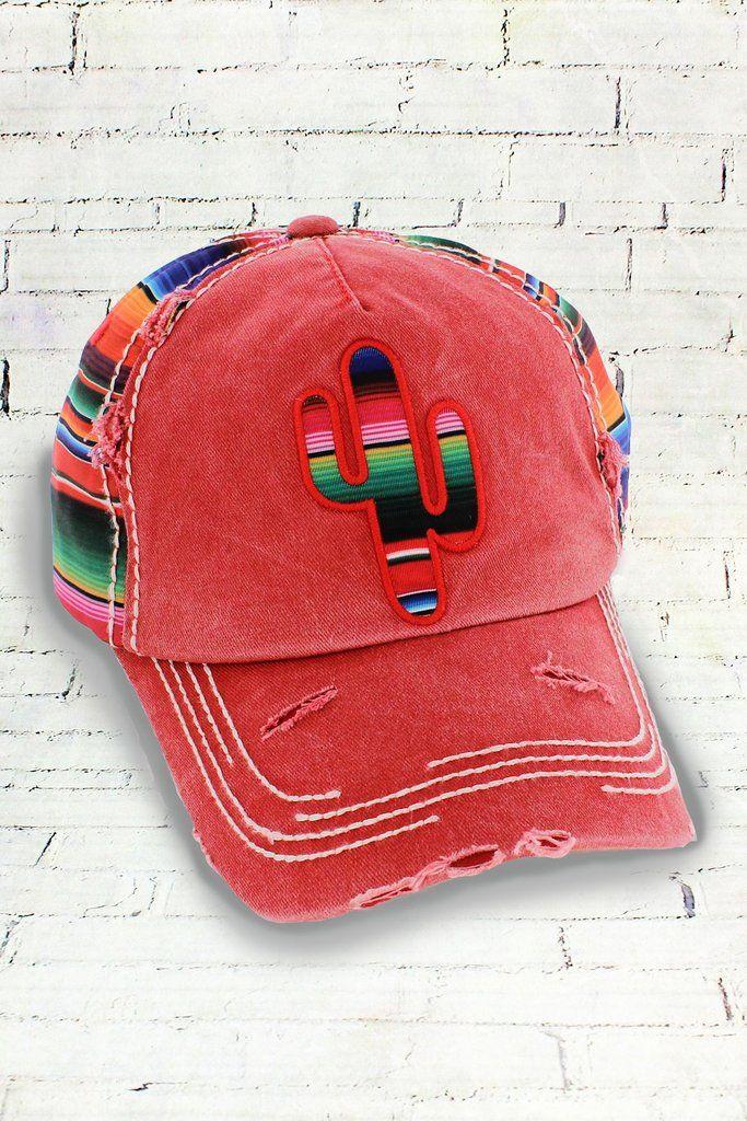 Kbethos Vintage - Brick Serape Cactus Cap  09ec5dc186a