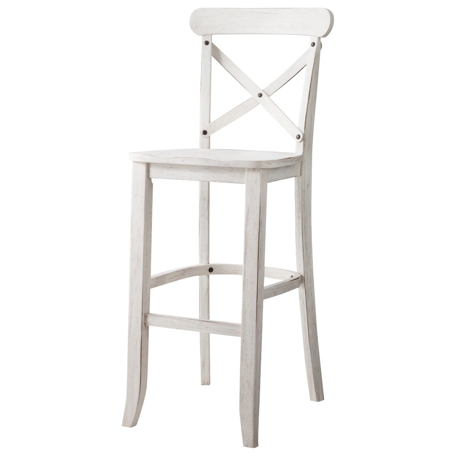 Add A Rustic Touch To Your Kitchen Or Dining Area With A French Country Chair This High Wood Chair H Bar Stools Farmhouse Bar Stools Counter Stools With Backs