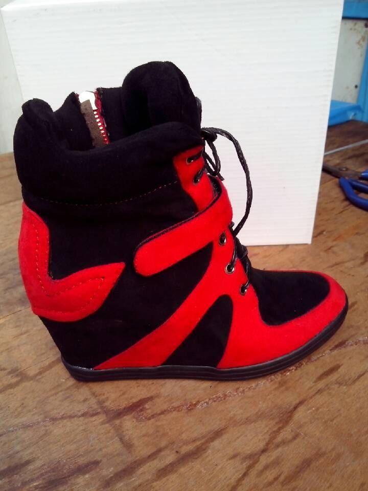 Platform Wedge Heel High Heels Sneakers