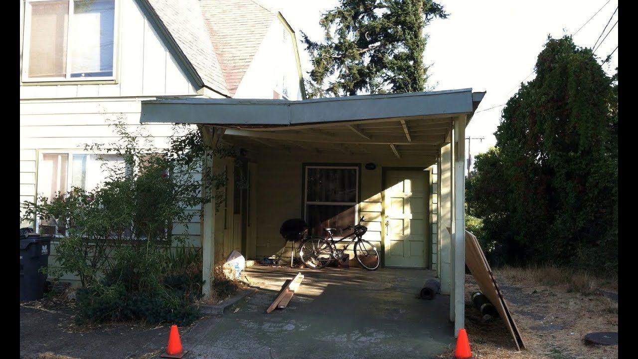 How to Repair a Sagging Carport | Wooden carports, Metal ...