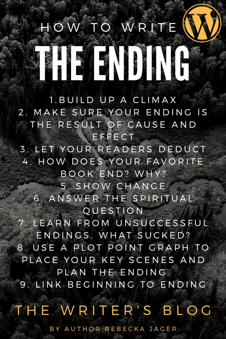 Do you know how your book will end?
