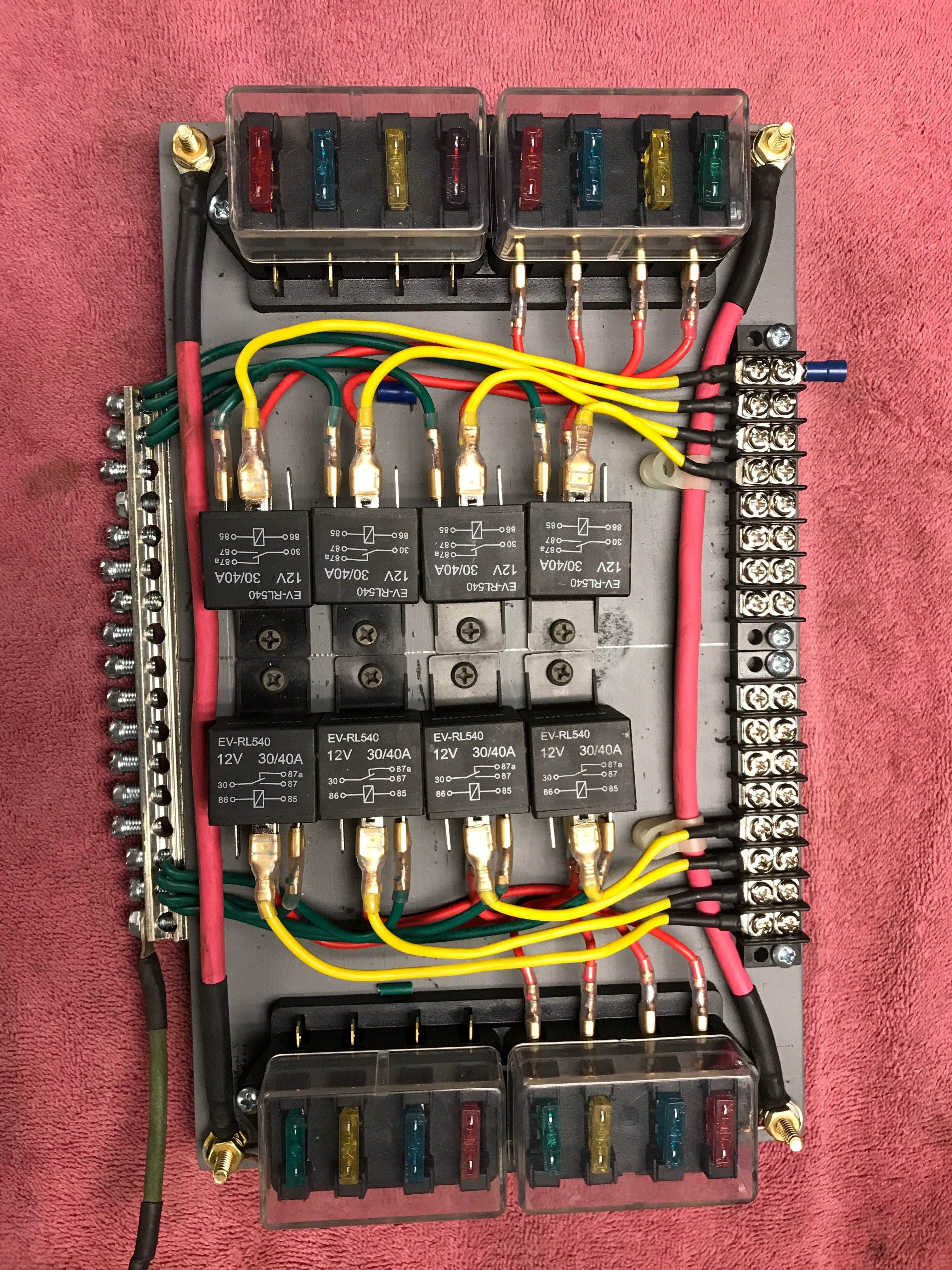 New Relay Board I Just Made Car Audio Systems Car Fuses Automotive Repair