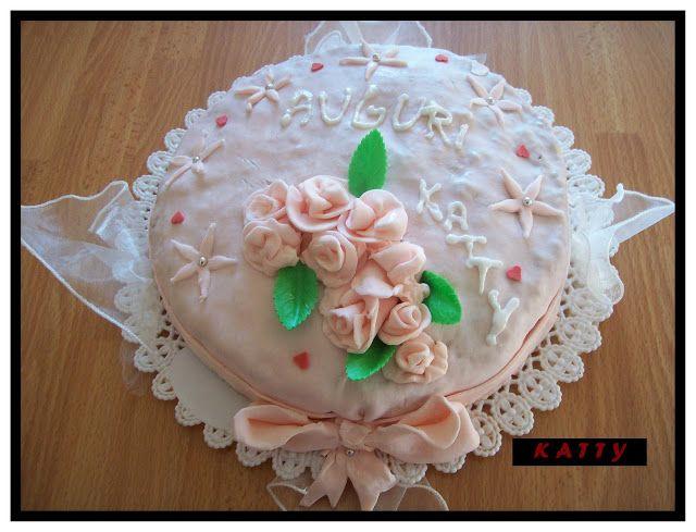 torta-rosa ... la mia prima in assoluto!