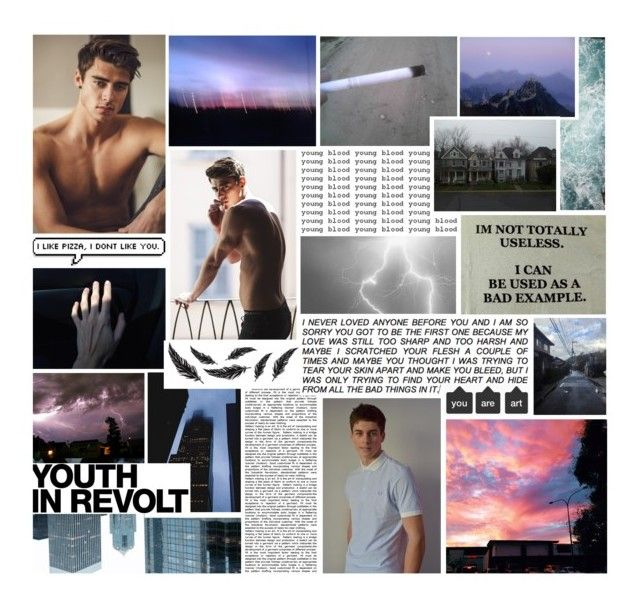 """""""Sebastian"""" by your-average-slytherclaw ❤ liked on Polyvore featuring art"""