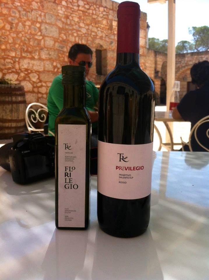 Vino e olio della Masseria Triticum