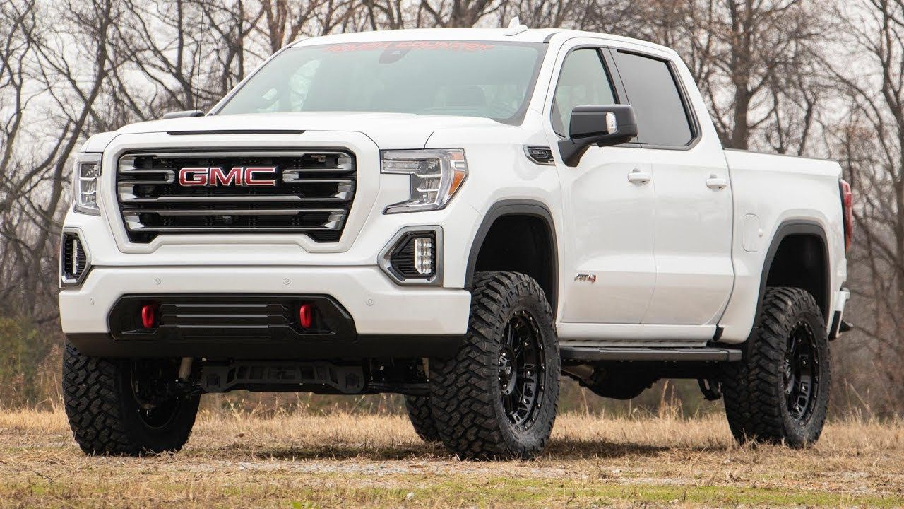 The Best 2020 Gmc Sierra 1500 At4 Lift Kit And Description Di 2020