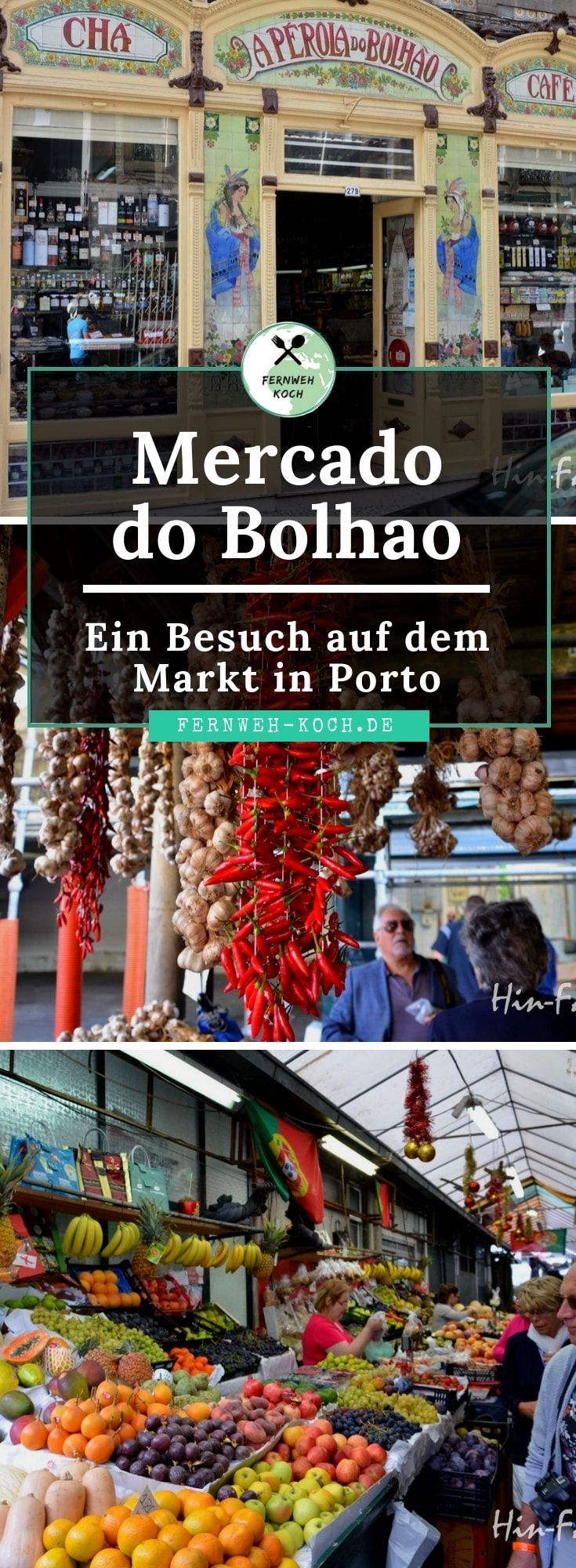 Mercado Bolhao in Porto #traveltoportugal