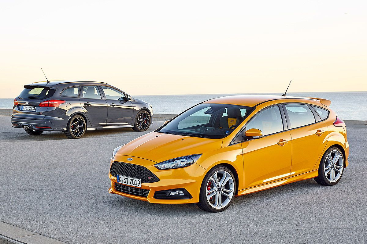 Ford focus st fl 2015 fahrbericht bilder autobild de