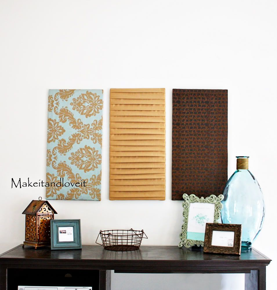 Superior Love These Fabric Wall Hangings. Inexpensive, Easy And They Take Up A Good  Amount Of Wall Space! Great Pictures