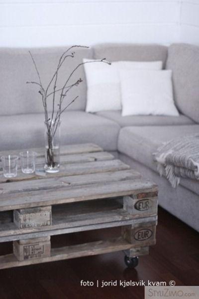 bord av pallar