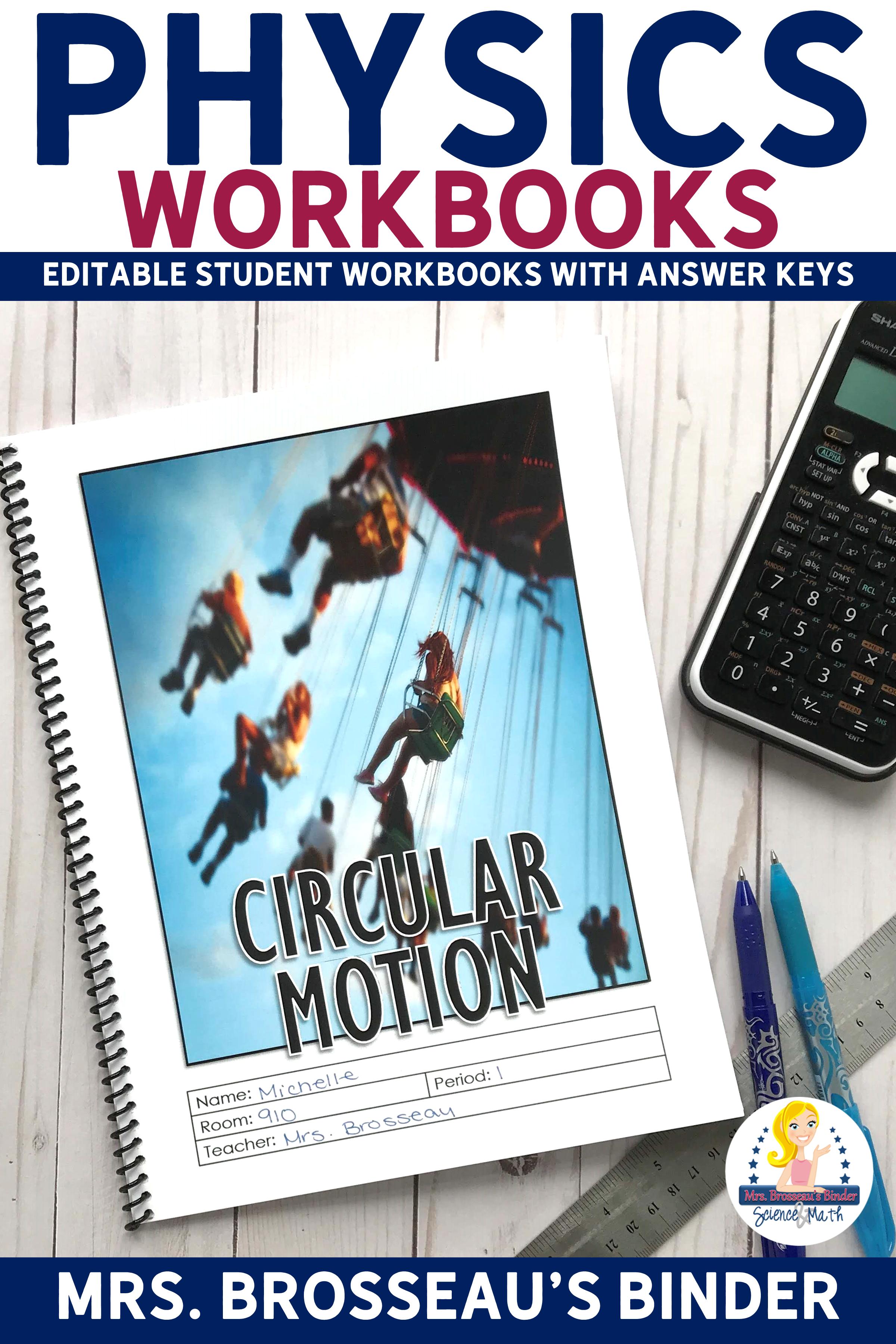 Circular Motion Workbook
