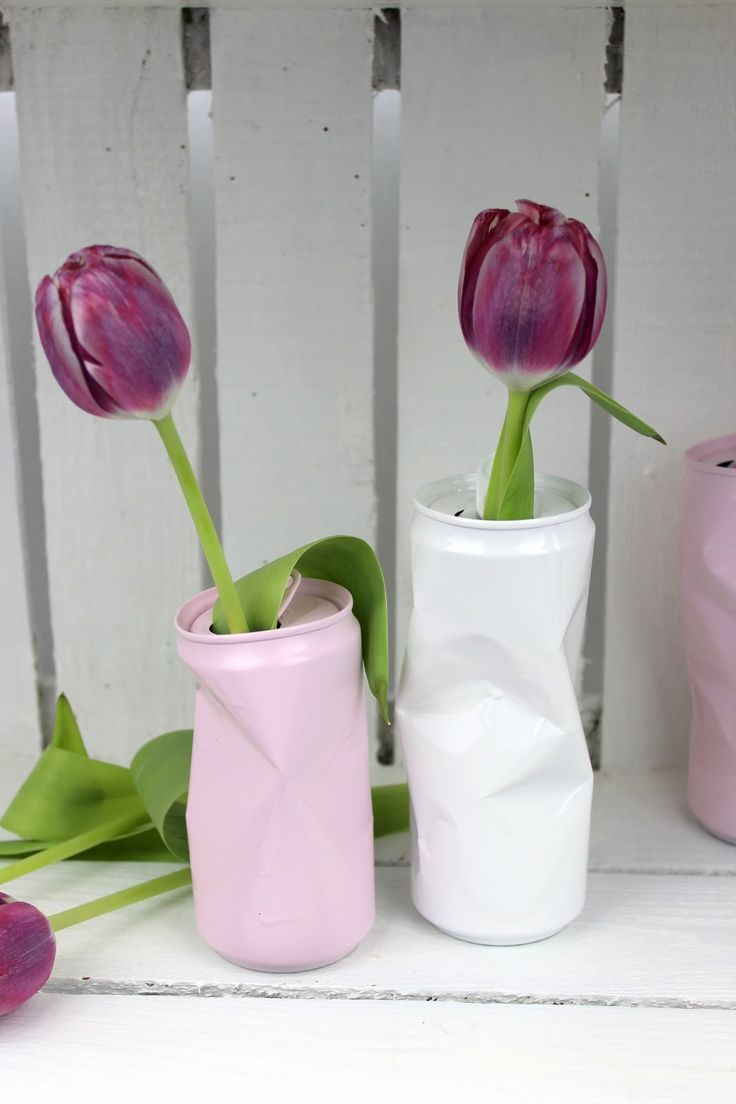 Photo of DIY flower vase from old cans – brilliant recycling / upcycling idea