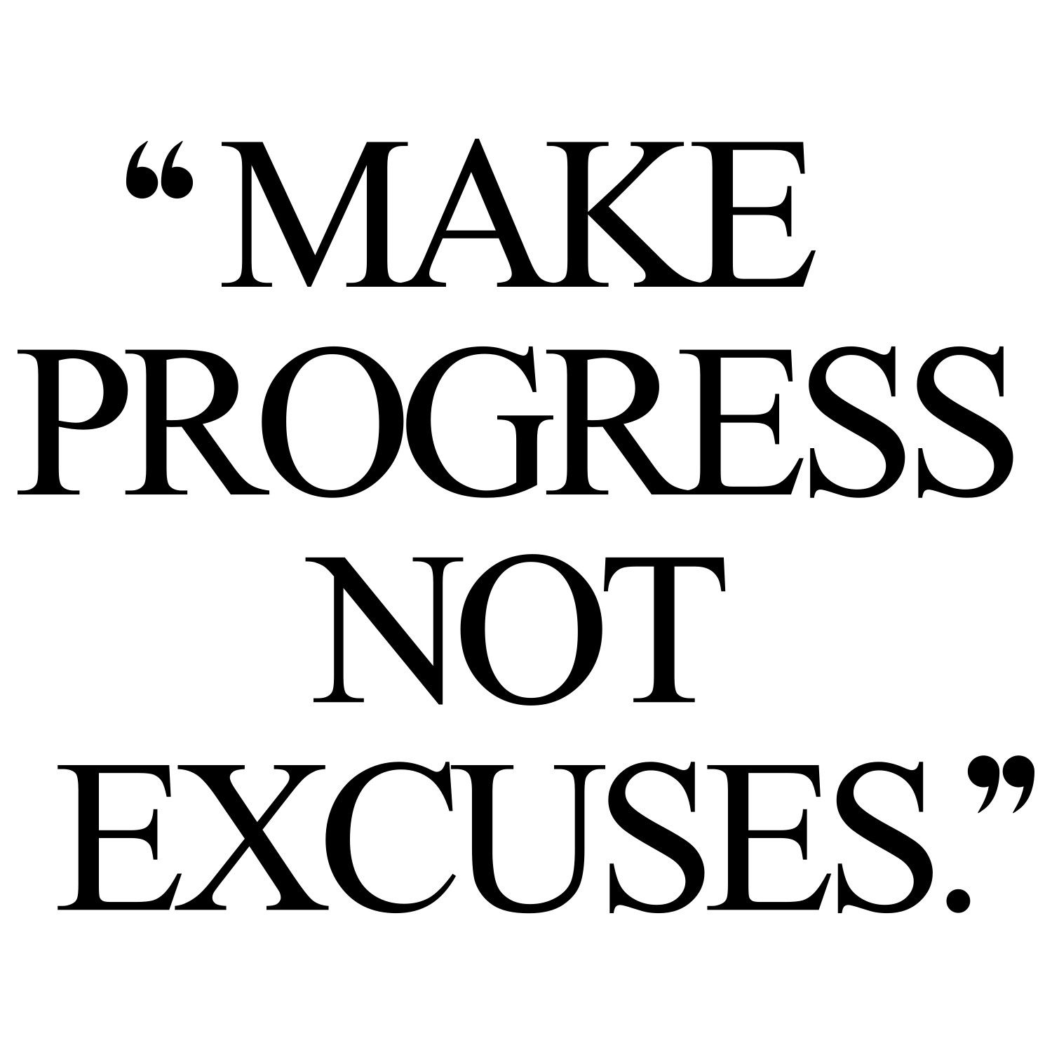 Positive Workout Quotes Make Progress  Training Quotes Motivation And Thoughts