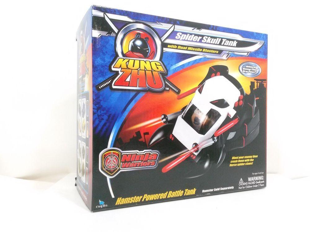 Kung Zhu Ninja Warriors Spider Skull Tank with Duel